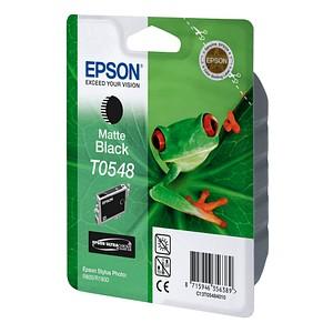 EPSON T0548 matt schwarz Tintenpatrone