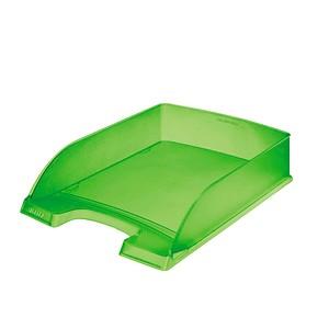 LEITZ Briefablage Plus grün-transparent DIN A4