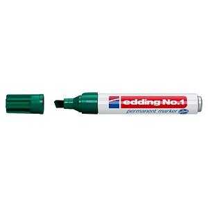10 edding No. 1 Permanentmarker farbsortiert 1,0 - 5,0 mm