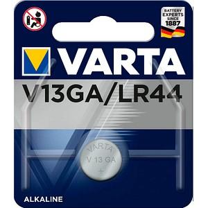 VARTA Knopfzelle V 13 GA/LR44 1,5 V