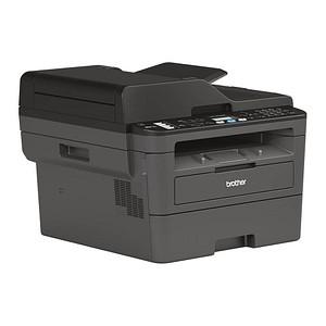brother MFC-L2710DN 4 in 1 Laser-Multifunktionsdrucker grau
