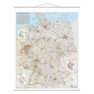 Straßenkarten  von FRANKEN