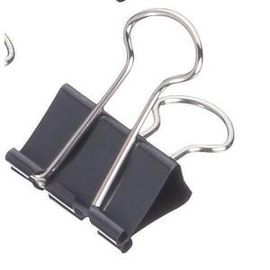 12 Maul Foldback-Klammern Stärke 9 mm Breite 25 mm Büroklammern Foldbackklammer!