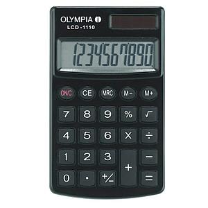 OLYMPIA LCD-1110 Taschenrechner schwarz