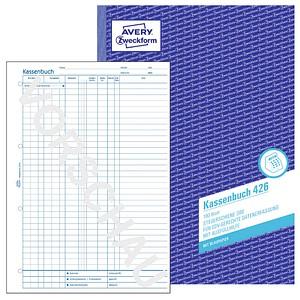 AVERY Zweckform Formularbuch 426 Kassenbuch/EDV