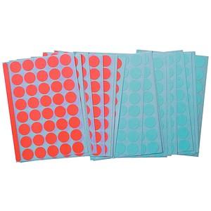 Legamaster Klebepunkte 7-243000 rot, blau Ø 1,9 cm
