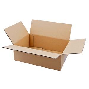 20 Wellpapp-Faltkartons 1-wellig 31,5 x 22,5 x 11,7 cm