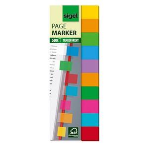 Haftmarker Multicolor transparent von SIGEL