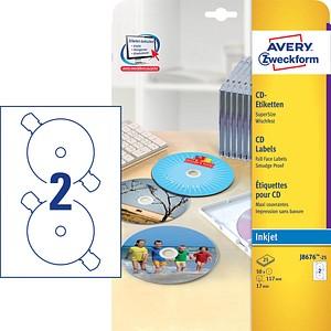 CD-Etiketten SuperSize von AVERY Zweckform