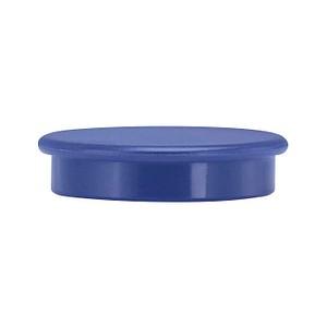 10 neutral   Magnete blau Ø 3,8 x 1,03 cm
