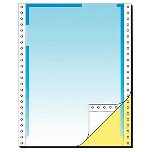 SIGEL Endlospapier A4 hoch 2-fach, 80 g/qm blau 500 Blatt