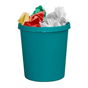helit Papierkorb 18,0 l grün