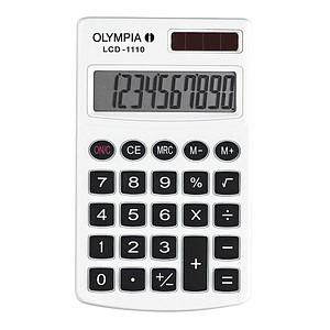 OLYMPIA LCD-1110 Taschenrechner weiß