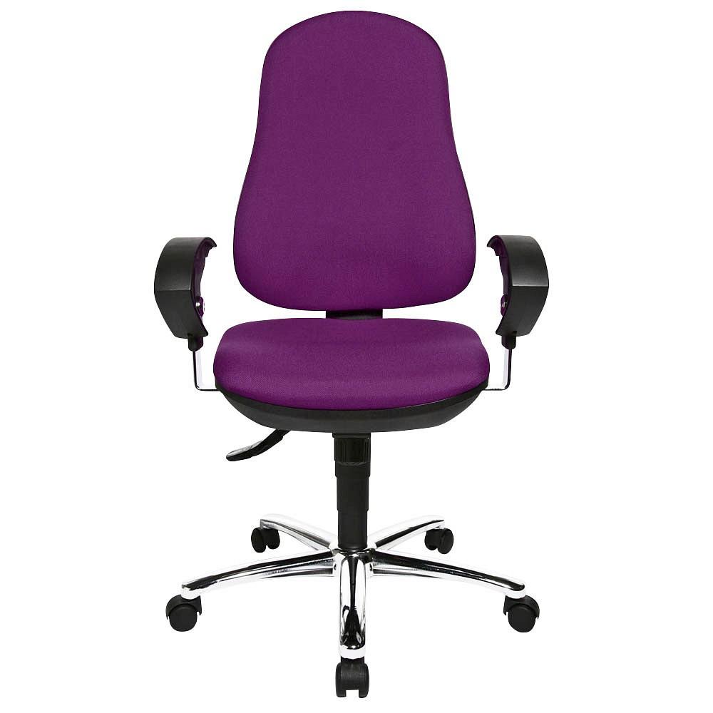 Topstar Bürostuhl Support ®Syncro Deluxe 8559U G03 lila