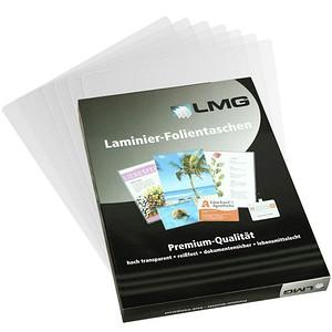 100 LMG Laminierfolien glänzend für A6