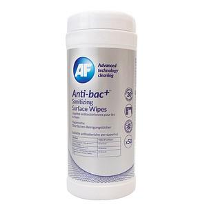 AF International Anti-bac+ Desinfektionstücher 50 Tücher