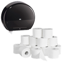 Toilettenpapier & -Spender