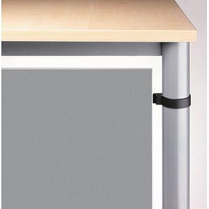 HAMMERBACHER   Orbis Sichtblende silber 101,8 x 40,0 cm