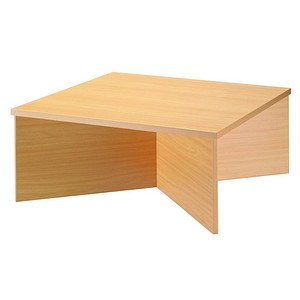 HAMMERBACHER Orbis Schreibtischaufsatz buche