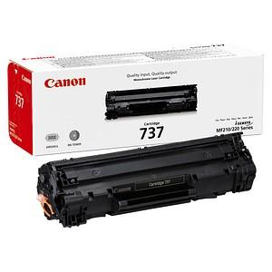 Canon 737 BK schwarz Toner