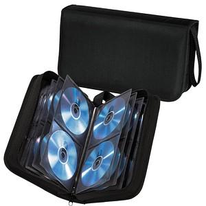 hama CD-/DVD-Tasche Wallet schwarz