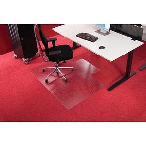 Roll-o-Grip Bodenschutzmatte für Teppichböden rechteckig mit Lippe lange Seite, 120,0 x 150,0 cm